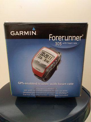 Pulsometro GPS Garmin 305