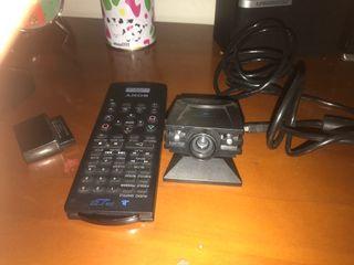Camara y mando a distancia ps2