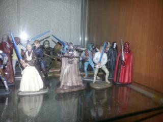 pack coleccion miniaturas star wars plomo