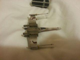 coleccion naves de star wars de plomo 2005
