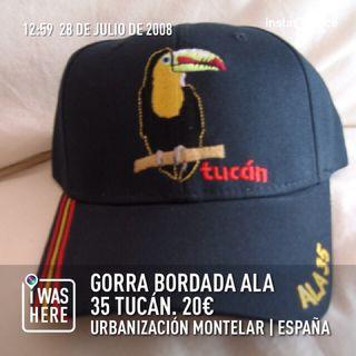 Gorra bordada Ala 35 Tucan