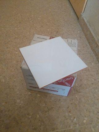 6 cajas AZULEJO 20X20 BLANCO