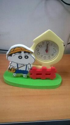 Reloj goma eva