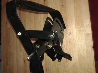 montura polar por antena parabolica