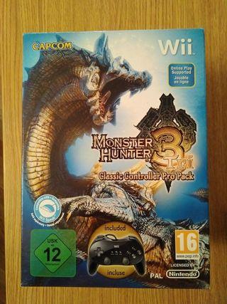 Monster Hunter 3 tri Wii Pro Controller