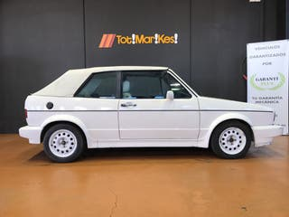 Volkswagen Golf Cabrio 1989 karmann mk1