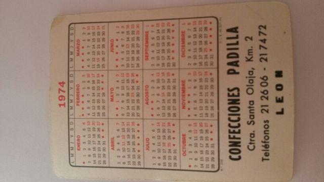 Calendario 1974.Calendario 1974 De Segunda Mano Por 2 En Gijon En Wallapop