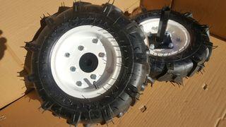 """juego de ruedas agricolas 4.00 - 8"""" para motoazada"""