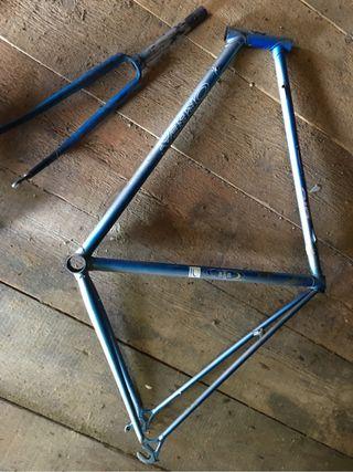 Cuadro bicicleta orbea años 90