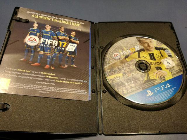 Cambio o vendo FIFA 17 PS4