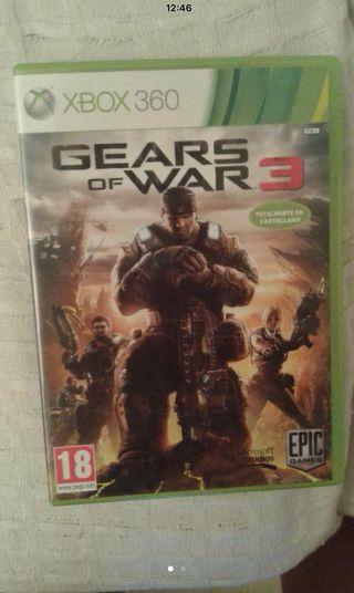 Juego Xbox Gears Of War 3