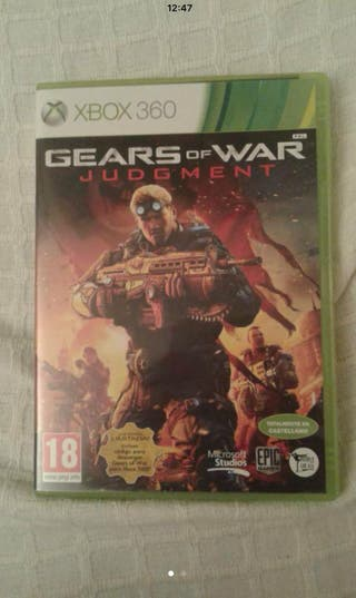 Juego Xbox Gears Of War Judgment
