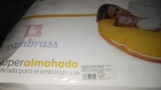 almohada de lactancia y embarazo