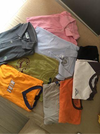 9 polos y camisetas hombre