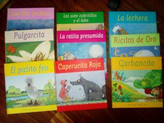 Colección 9 Libros infantiles