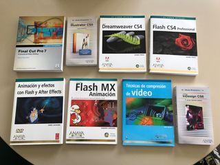 Libros ANAYA audiovisuales - animación - diseño