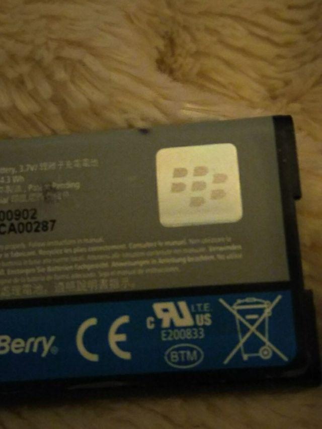 Blackberry battery