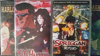 Manga Yuyu Hakusho y Sprigan