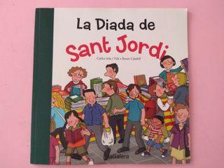 cuento la diada de sant jordi. infantil