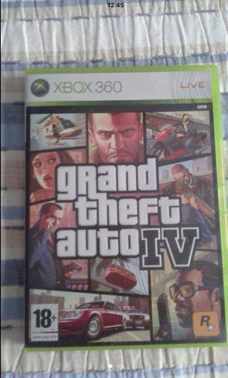 Juego Xbox Grand Theft Autu IV