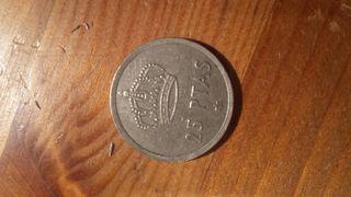 Moneda 25 pesetas Juan Carlos I