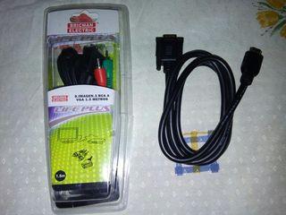 CABLE VGA A RCA Y CABLE VGA A HDMI