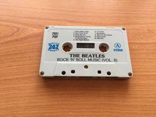 Cassette the beatles ( rock'n' roll music (vol. II)