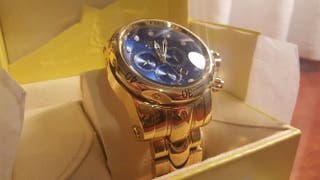 reloj invicta venom dorado