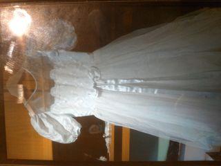 vestido comunion seminuevo.