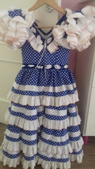 vestido niña sevillanas