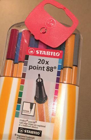 Bolis Stabilo point 88. X20