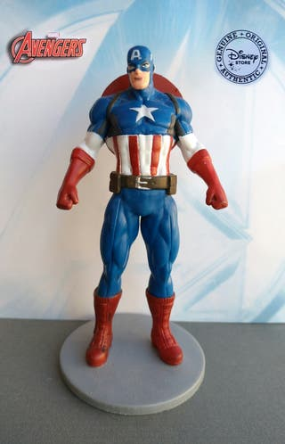 Figura Capitán América Los Vengadores Marvel