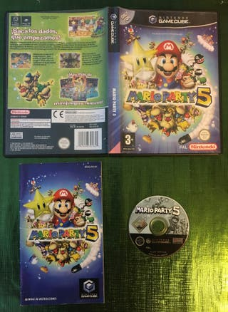 Mario Party 5 Gamecube Completo!!