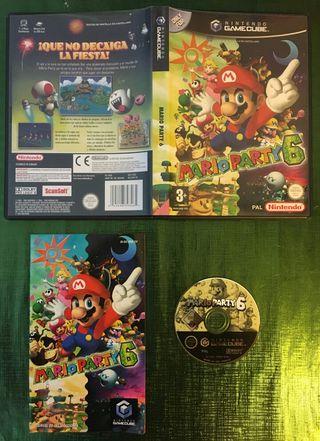 Mario Party 6 Gamecube Completo!!