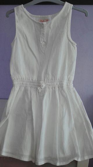 vestido de niña de la talla 7-8 años