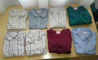 Lote de camisas de marca de niño y regalo
