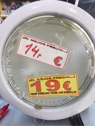 Dowlight Bajo Consumo 2x20 W De Tienda