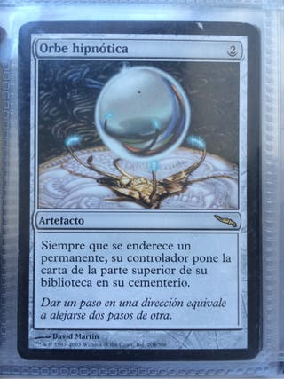 Carta magic orbe hipnotica