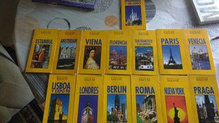 libros de viajes ..coleccion salvat..ciudades