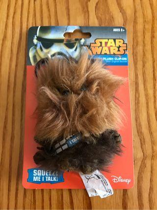 Llavero chewbacca peluche con voz nuevo star wars