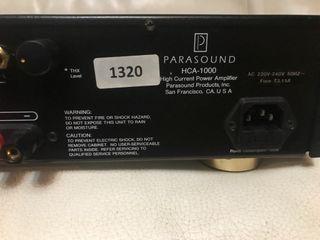 Etapa Parasound 125 W x 2