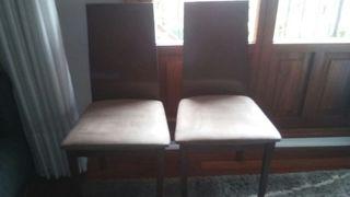 2 sillas comedor modernas