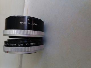 Canon tubo prolongacion