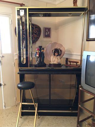 Mueble barra de bar para casa de segunda mano por 110 en montijo en wallapop - Mueble barra bar ...