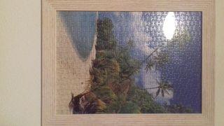 Cuadro paisaje de playa puzzle