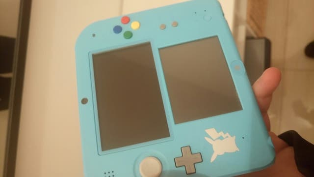 Nintendo 2DS pokemon sol preinstalado