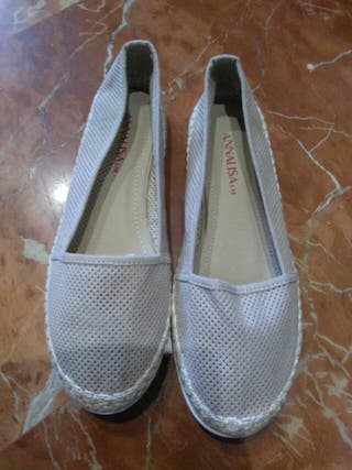 Zapatos mujer beige talla 39