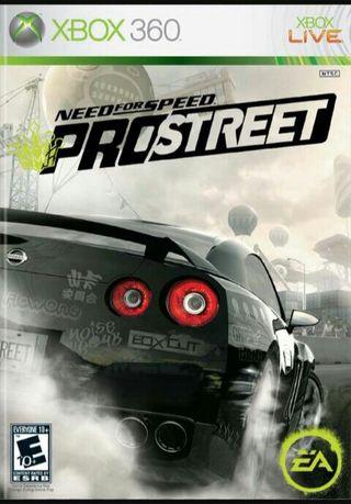 Juego xbox 360 NFS pro street