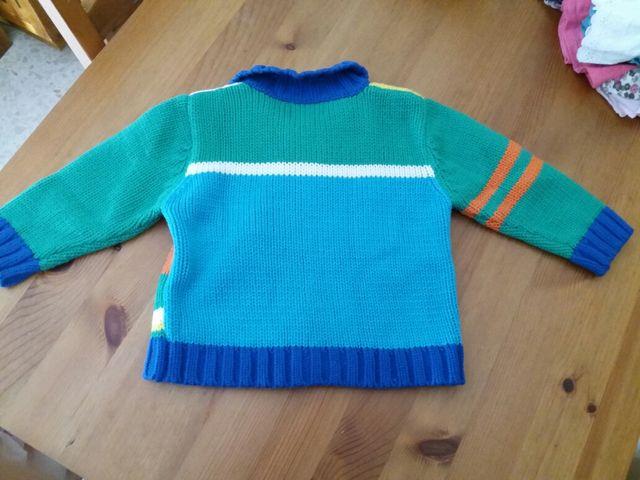 chaqueta lana niña t.23m de Eucaliptus