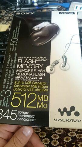 Reproductor mp3 atrac3plus. 512 Mb Nuevo.
